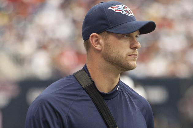 Jake Locker Has a Fracture in His Injured Left Shoulder