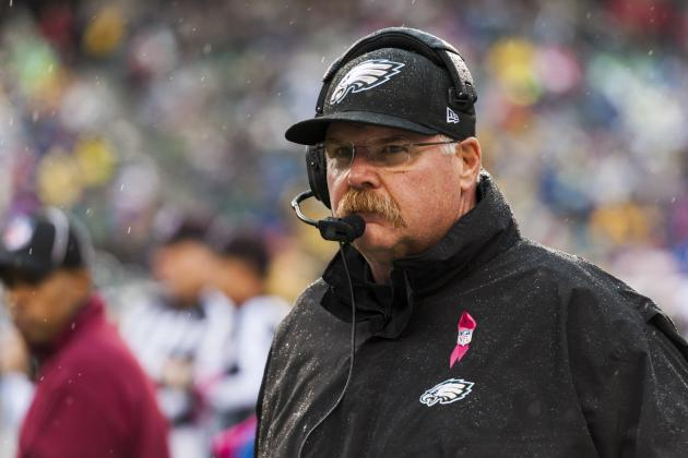 Buying or Selling Andy Reid's Job Security After Eagles' Week 8 Loss