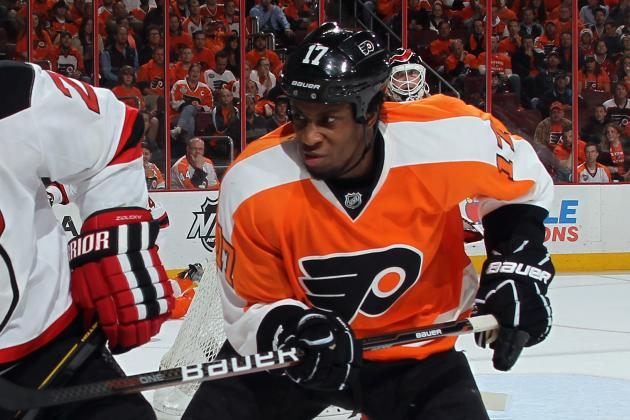 Wayne Simmonds' Agent Speaks out After 'Verbal Assault'