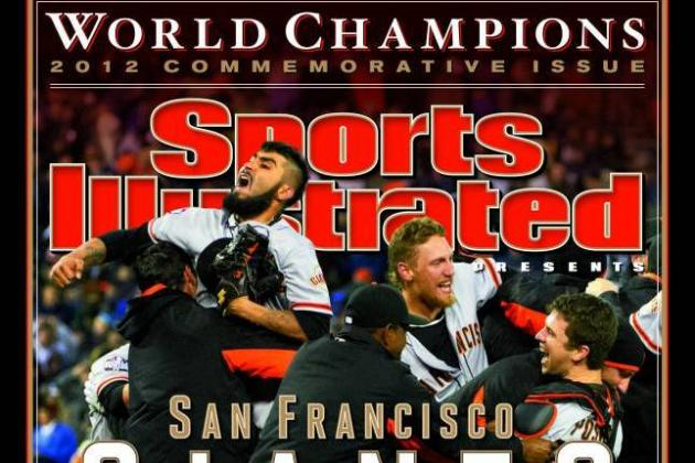 Champion Giants on SI Cover