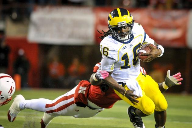 Michigan Football: Backup Plans Must Be in Place for Denard Robinson in Week 10