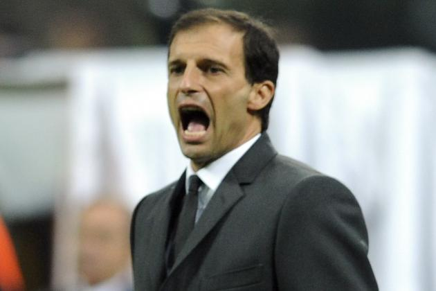 Massimiliano Allegri Vows to Fight on at AC Milan