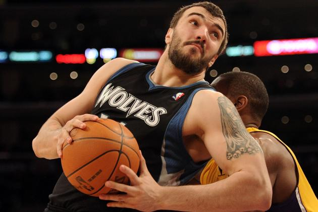 Nikola Pekovic Won't Be Shy About Demanding the Ball