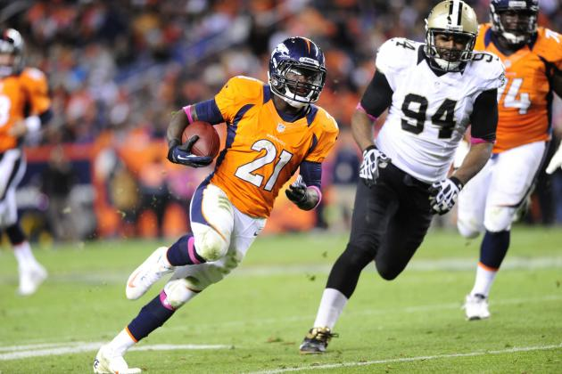 2012 NFL Fantasy Football Week 9: Flex Play Rankings / Projections