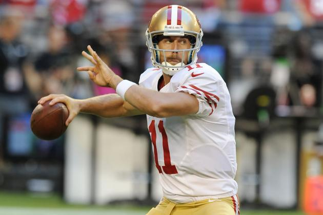 49ers vs. Cardinals: Alex Smith's Near-Perfect Night Leads San Francisco to 6-2