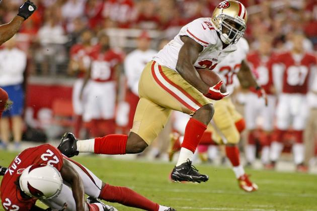 Frank Gore: 49ers Star RB Set to Be Fantasy Stud in Second Half of NFL Season