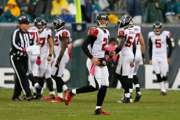 NFL Week 9 Rankings: Falcons Continue to Fly High