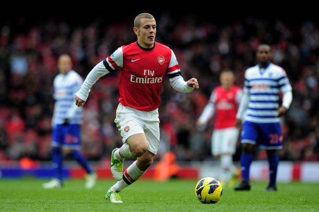 Thoughts on Jack Wilshere's Return to First-Team Action