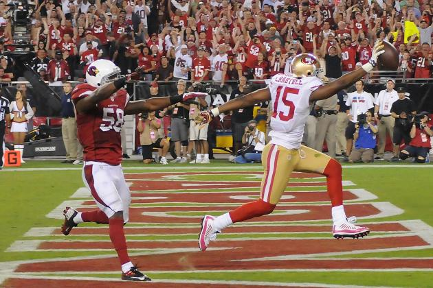 49ers vs. Cardinals: Michael Crabtree and a Coming out Party of 3