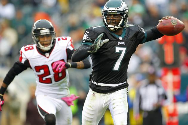 Michael Vick: Fantasy Owners Must Bench Eagles QB in Week 9