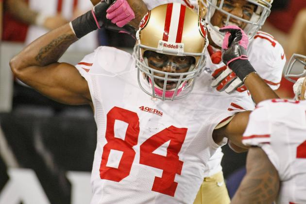 San Francisco 49ers Notebook: Randy Moss Breaks Free for Second Touchdown