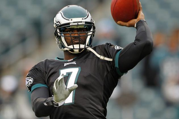 Vick Reportely Remains Eagles' Quarterback for Now, and More NFC East News