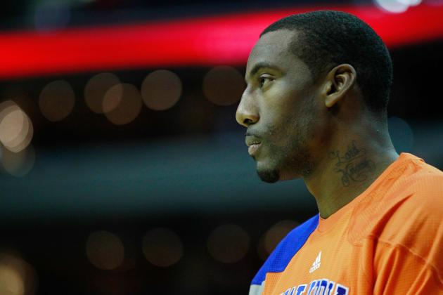 Breaking Down How NY Knicks Must Adjust with Amar'e Sidelined