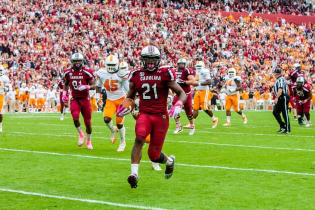 Marcus Lattimore Injury: Rally for RB Shows Strong Bond Between Team, Community