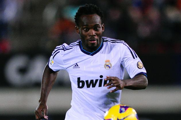 Real Madrid Boss Jose Mourinho Praises Adaptable Michael Essien