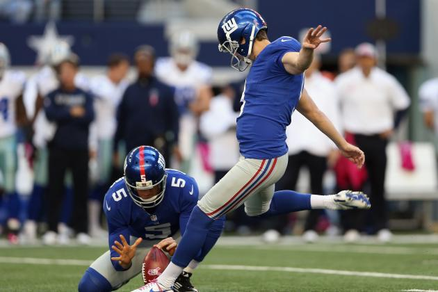 2012 Fantasy Football Kicker Rankings: NFL Week 9