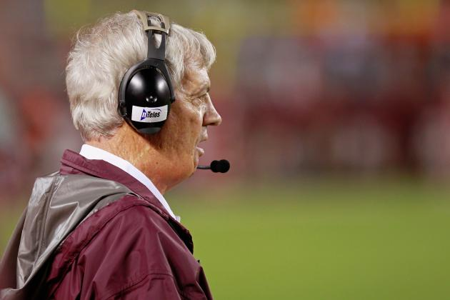 Virginia Tech Coach Frank Beamer Remains Discreet About RB Situation