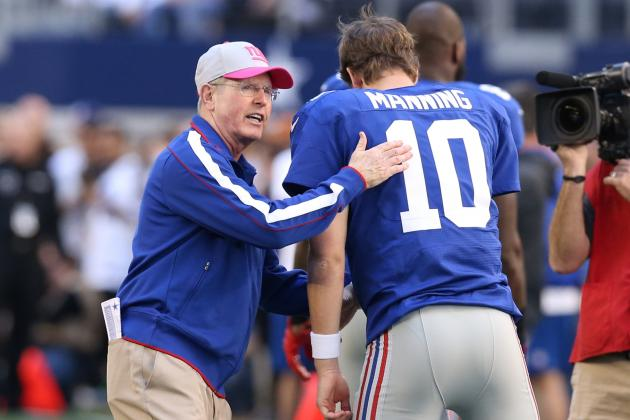New York Giants 2012 Midseason Report: Awards & Predictions