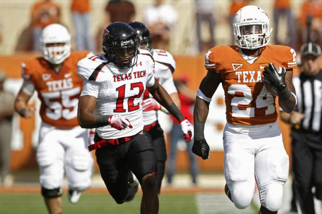Texas vs. Texas Tech: TV Schedule, Live Stream, Radio, Game Time and More