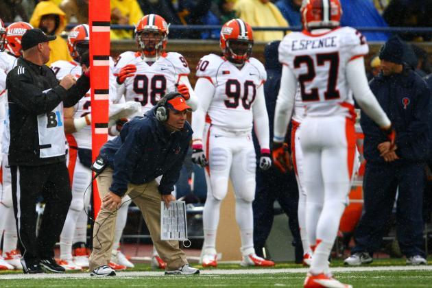 Penalties Plaguing Illinois Football in First Season Under Coach Tim Beckman