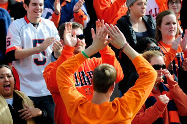 Illini Fans Not Seeing Reason for Hope : Illini