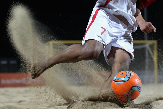 New-Look US Team Set for Beach Soccer Comeback