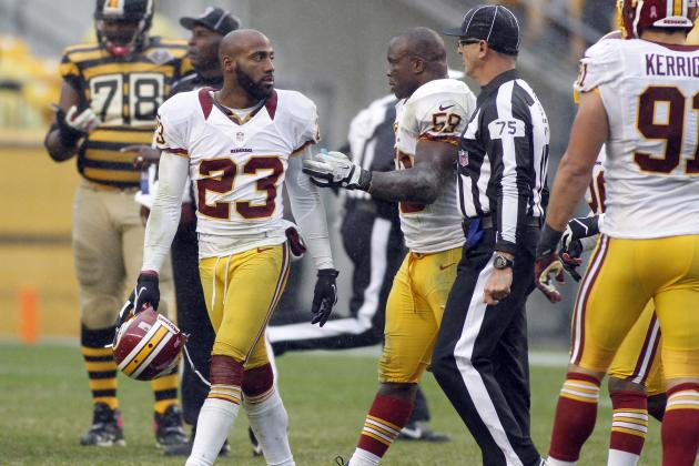 Shanahan: DeAngelo Hall Could Be Suspended for Incident with Ref