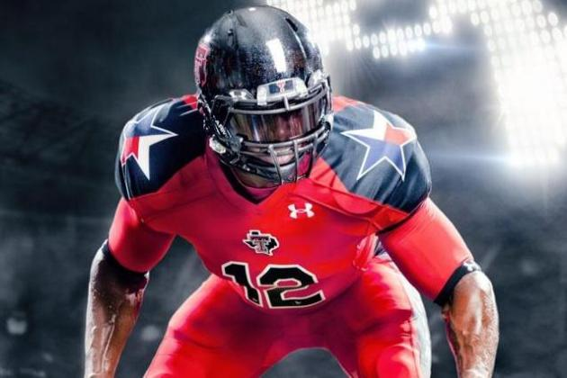 Breaking Down Texas Tech's New Under Armour Uniforms for Showdown vs. Texas