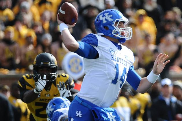 UK Football Notes: Towles Struggles to Find Rhythm