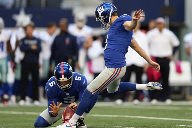 2012 Fantasy Football Week 9: Kicker Rankings / Projections