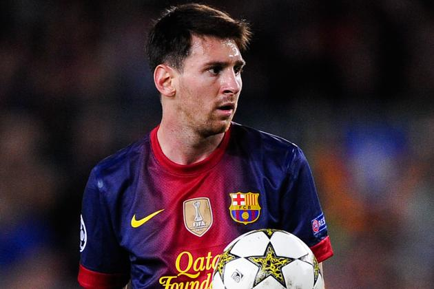 Lionel Messi Given Golden Shoe, Pledges Career to Barcelona