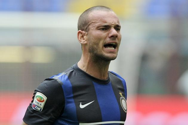 Sneijder Unlikely to Feature Against Juventus, Admits Stramaccioni