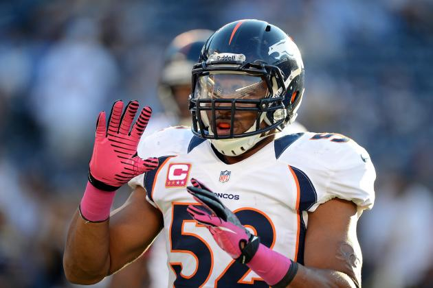 Woodyard Enjoying a Breakout Season for Broncos