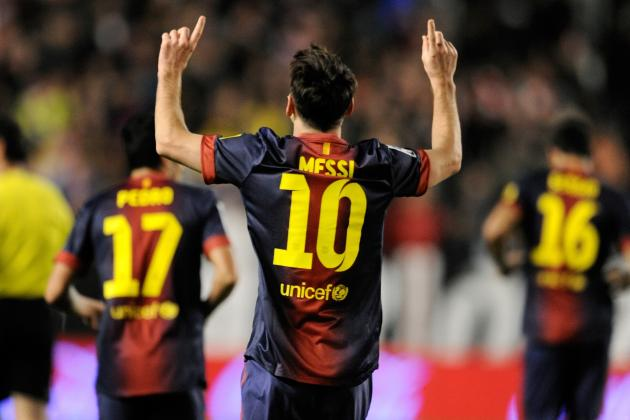 Lionel Messi and Barcelona Top Inaugural AP Global Soccer 10 Rankings