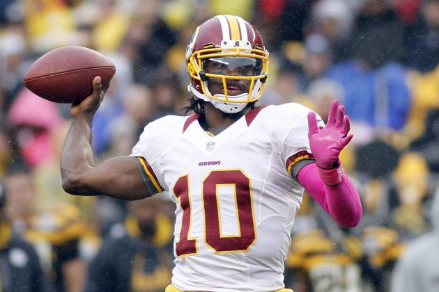 Robert Griffin III: Fantasy Outlook for Redskins QB vs. Panthers in Week 9