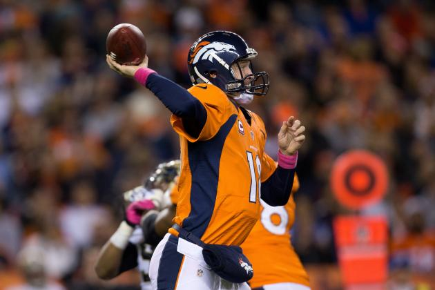 Peyton Manning: Breaking Down QB's Week 9 Fantasy Matchup