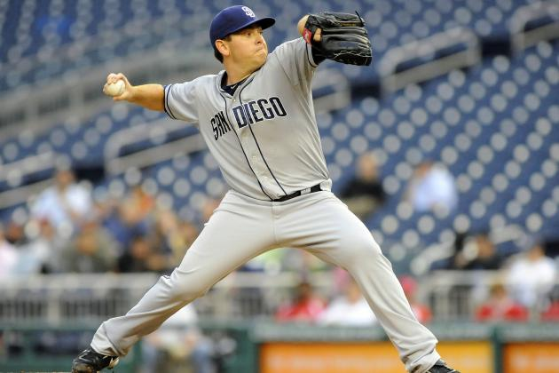 San Diego Padres Waive Saratoga Native Tim Stauffer
