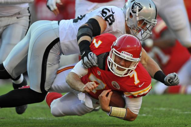 Cassel to Start for Historically Bad Chiefs and Other AFC West News