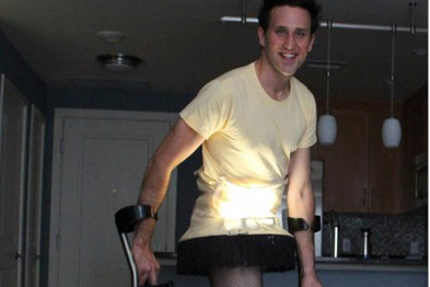 Paralympian's Epic Halloween Costume