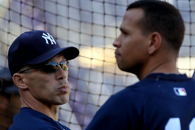 Joe Girardi Has 'Great' Talk with Alex Rodriguez