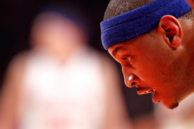 Amar'e Stoudemire Injury Will Spark MVP Season for Carmelo Anthony