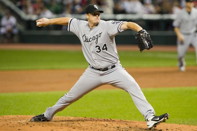 White Sox Exercise Option on Floyd, Decline Myers and Youkilis