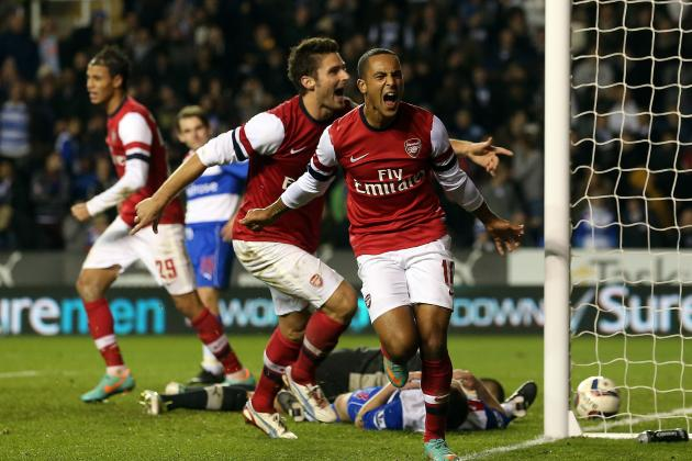 Reading 5 Arsenal 7: Hat-Trick Hero Walcott Leads Stunning Gunners Comeback