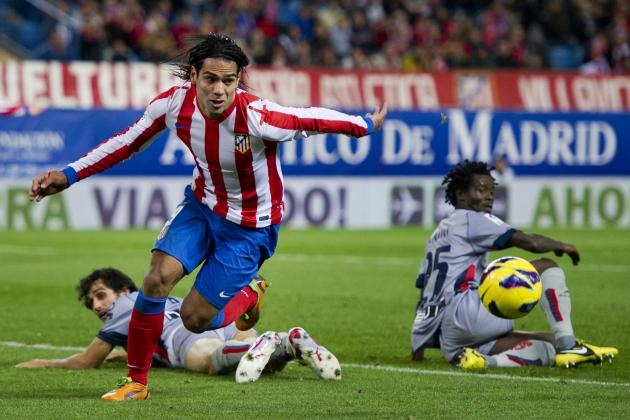 Falcao Could Guide Atletico Madrid to a Top-Two Finish in La Liga