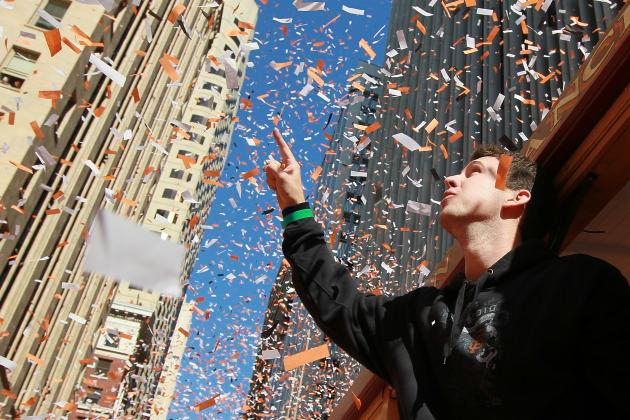 SF Giants Parade 2012: Viewing Info and Live Stream for World Series Festivities