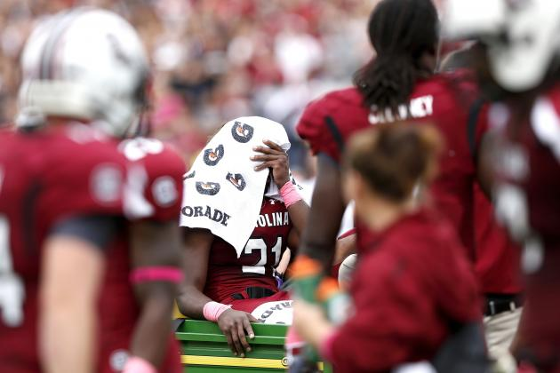 Marcus Lattimore Reaction: Finding Positives Through His Devastating Injury