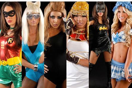 wwe divas top 15 divas halloween costumes bleacher report - Wwe Halloween Divas