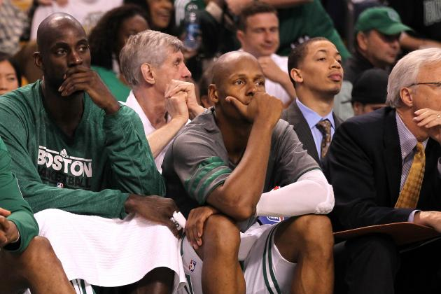Kevin Garnett Right to Give Ray Allen the Cold Shoulder
