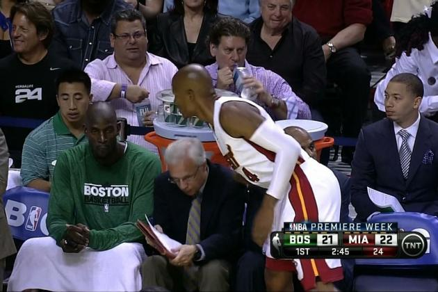 Boston Celtics vs. Miami Heat:  Highlights from NBA Opener