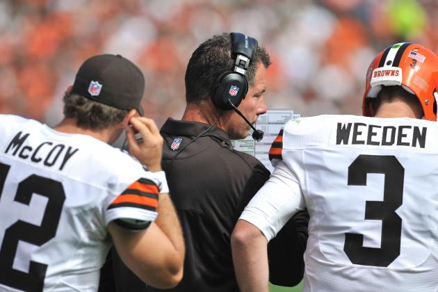 Cleveland Browns: Weeden vs. McCoy, Was the Right Choice Made at Quarterback?